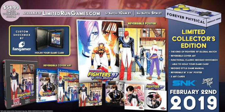 King of fighters 97 Limited Run