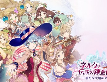 Nelke and the Legendary Alchemists wallpaper