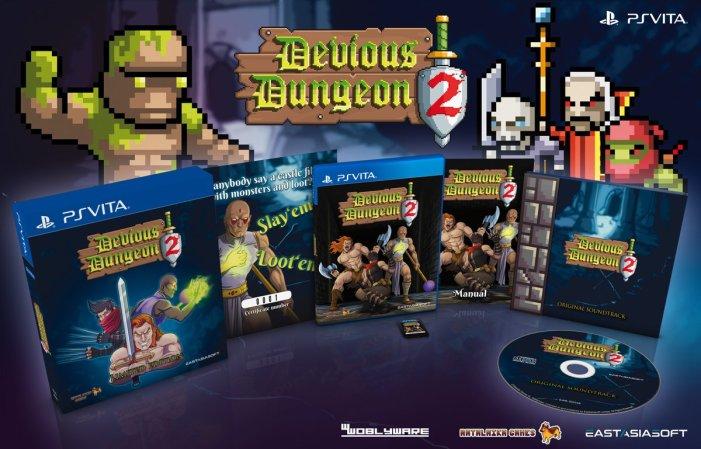 Devious Dungeon 2 PS Vita édition physique limitée
