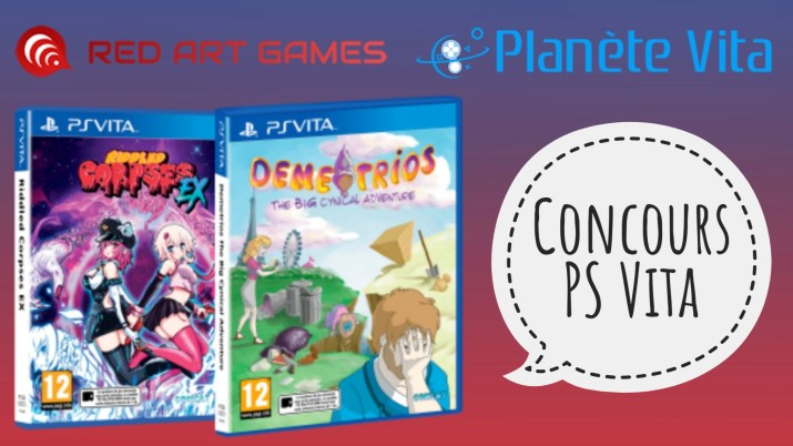 Concours PS Vita Red Art Games