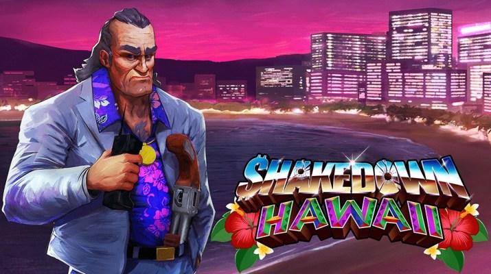 Shakedown Hawaii Test & avis sur PS Vita