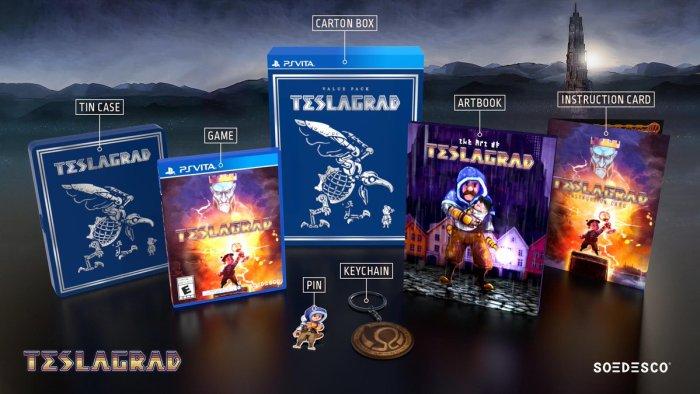 Teslagrad version collector PS Vita