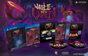 A Hole New World édition physique limitée sur PS Vita