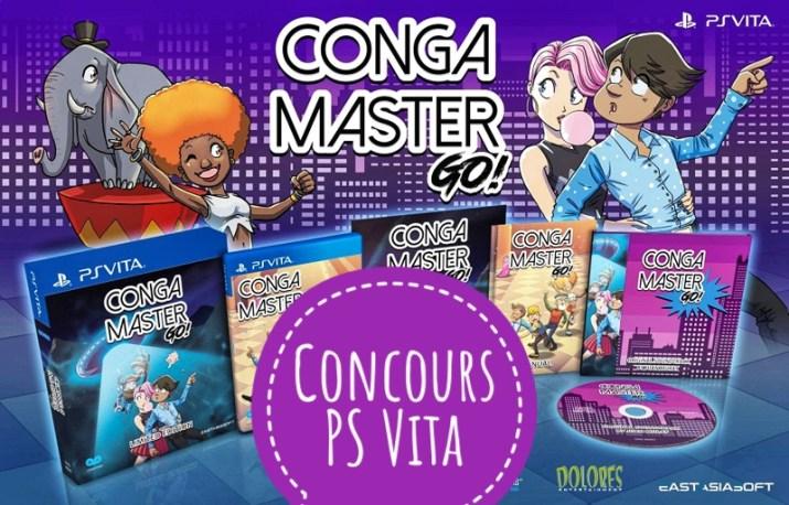 Concours Conga Master Go! PS Vita