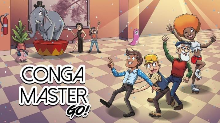 [Test] Conga Master Go! A la queue leu-leu sur PS Vita !