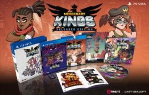 Mercenary Kings édition physique limitée sur PS Vita
