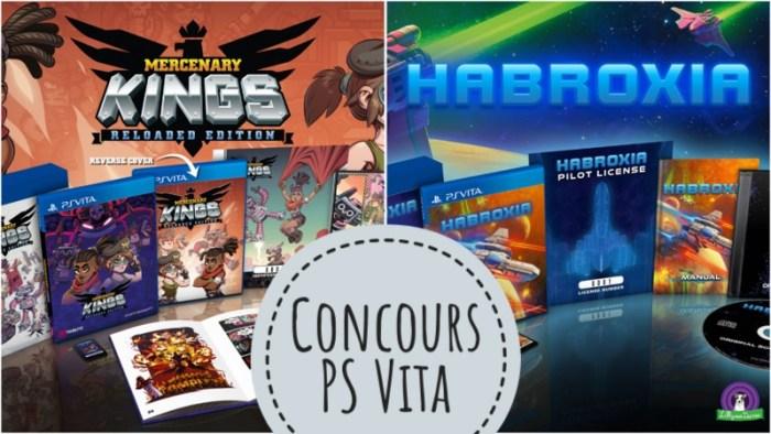 Concours Mercenary Kings + Habroxia PS Vita