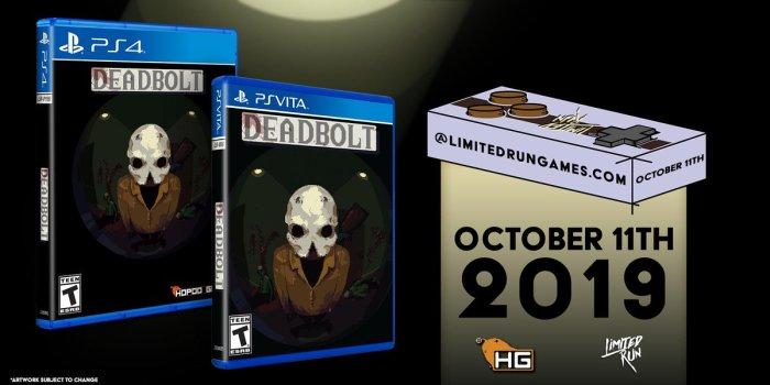 Deadbolt Limited Run PS Vita