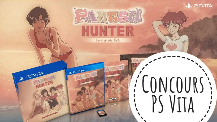 Concours Pantsu Hunter PS Vita