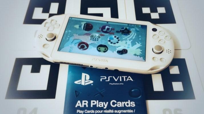 [Guide] Les jeux en réalité augmentée sur PS Vita