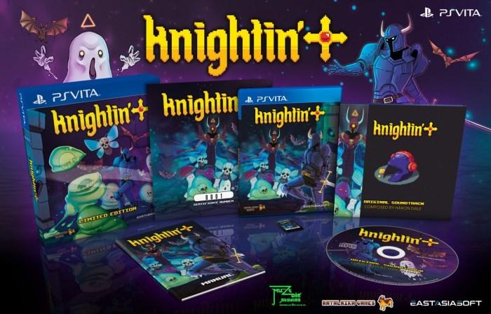 Knightin'+ en édition physique limitée sur PS Vita