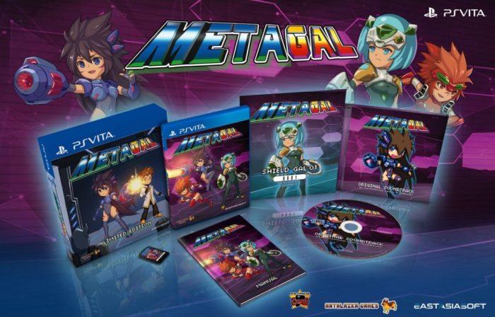 METAGAL édition physique limitée sur PS Vita