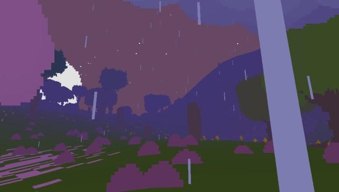 Pluie dans Proteus
