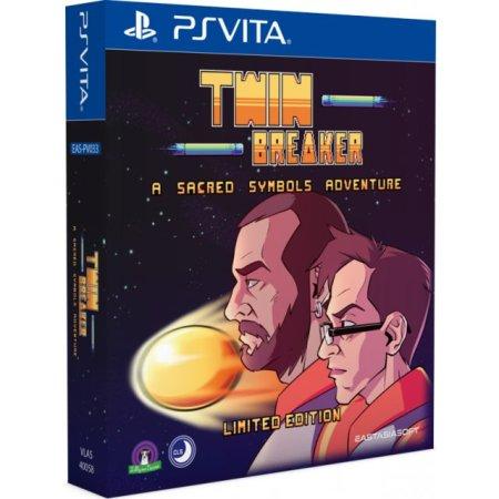 Twin Breaker édition physique limitée PS Vita