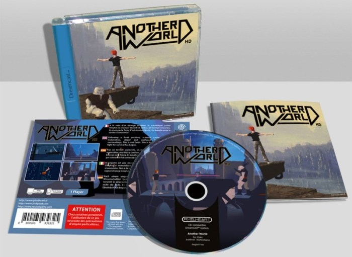 Another World 20th Anniversary Edition Dreamcast PixelHeart