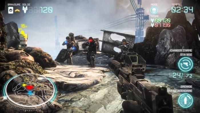 Killzone Mercenary en jeu online sur PS Vita