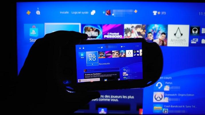 Remote Play PS Vita et PS4 8.00