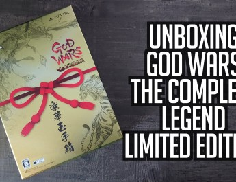 [Unboxing] God Wars The Complete Legend Limited Edition