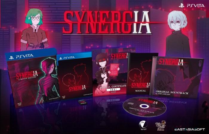 Synergia édition physique limitée sur PS Vita