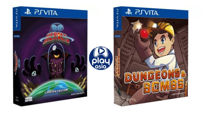 88 Heroes et Dungeons & Bombs en éditions physiques limitées sur PS Vita