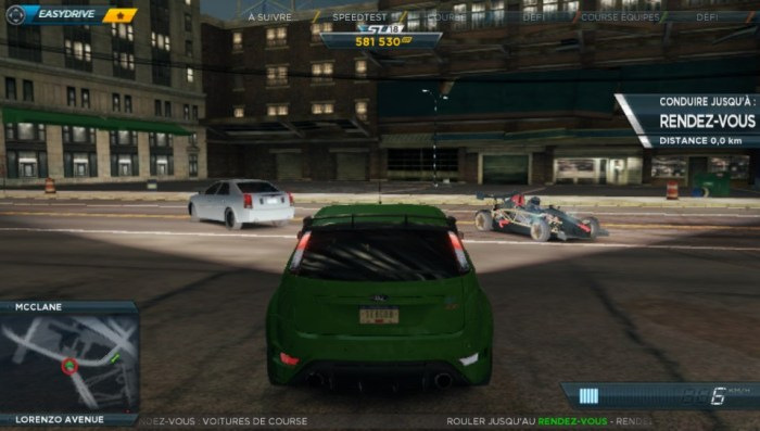 Need for Speed Most Wanted en ligne PS Vita