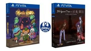 Bard's Gold Complete Edition et Just Ignore Them + My Big Sister Collection en éditions physiques limitées sur PS Vita
