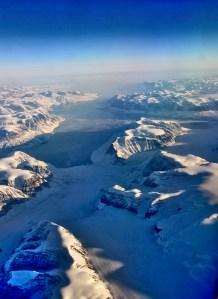 Vue aérienne du Groenland - Photo JMDigne - 24 octobre 2015