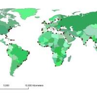 Changement climatique : inondations et villes portuaires, horizon 2070