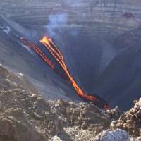 Eruption du Piton de la Fournaise (île de la Réunion)