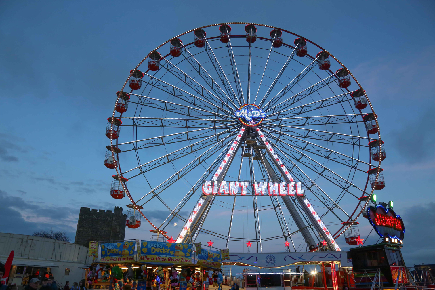 the giant wheel planet