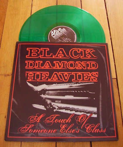 BLACK DIAMOND HEAVIES - A Touch Of Someone Else's Class