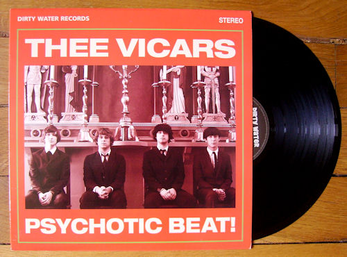 Thee Vicars - Psychotic Beat !
