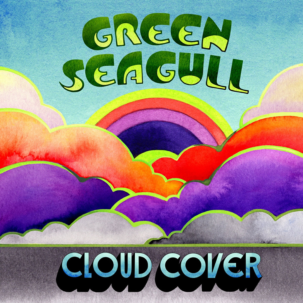 """<span class=""""entry-title-primary"""">GREEN SEAGULL – Cloud Cover</span> <span class=""""entry-subtitle"""">Fraîcheur pop</span>"""