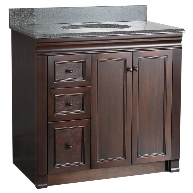 Shawna 36 Vanity no top  Planet Granite