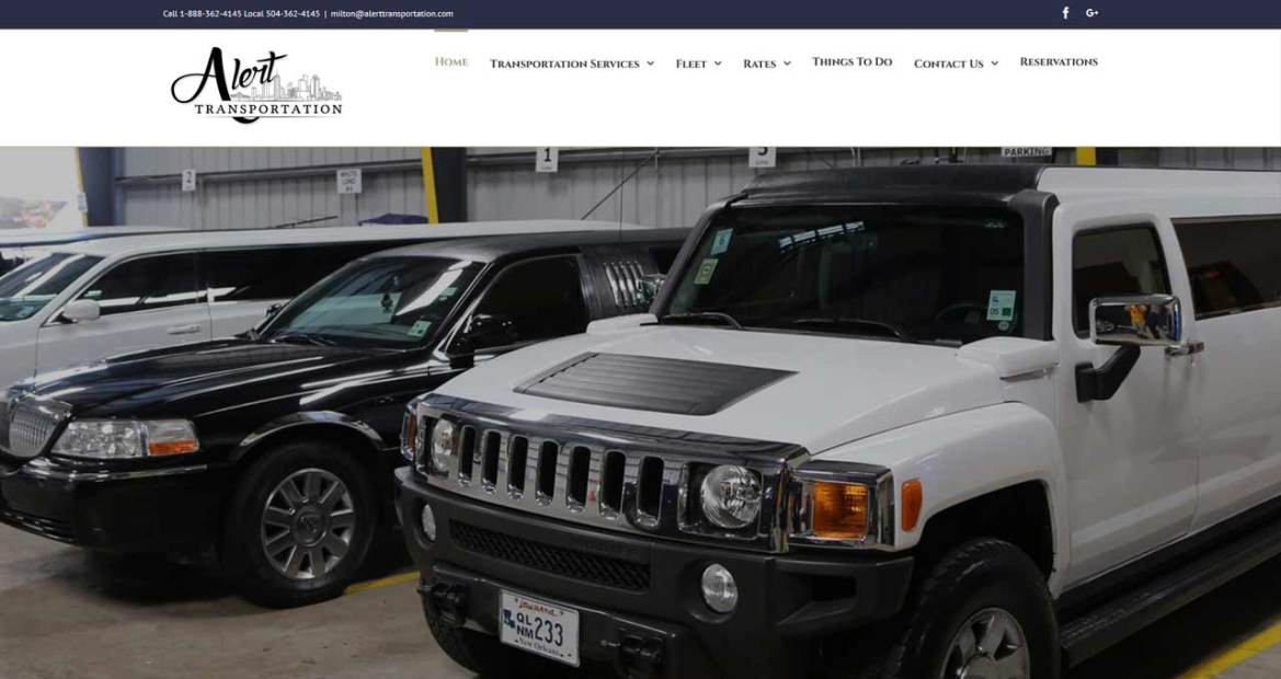 alert transportation website image