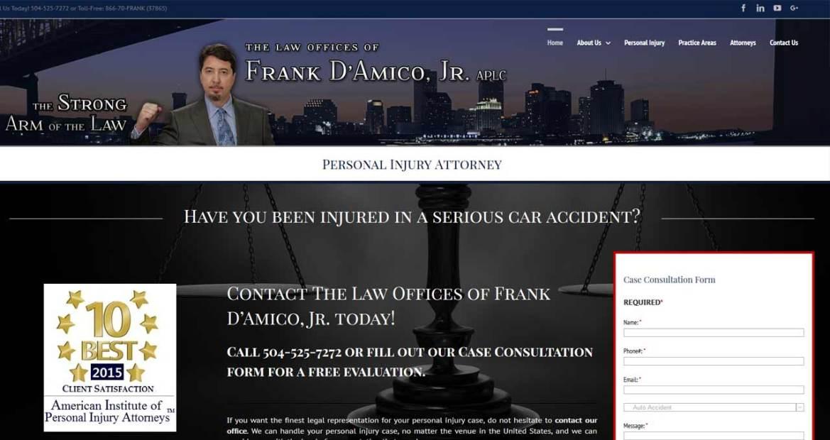 frank damico website