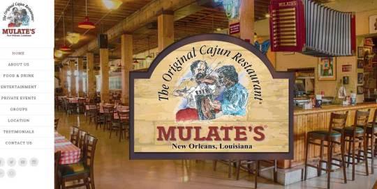 mulates website design image