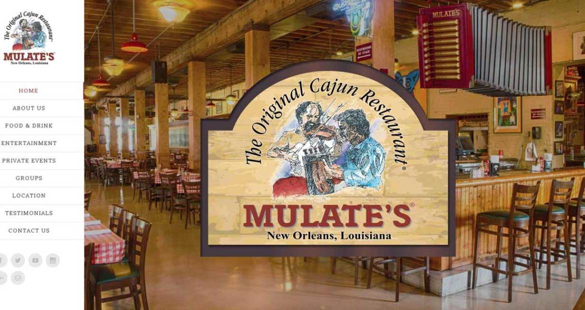 mulates website design image