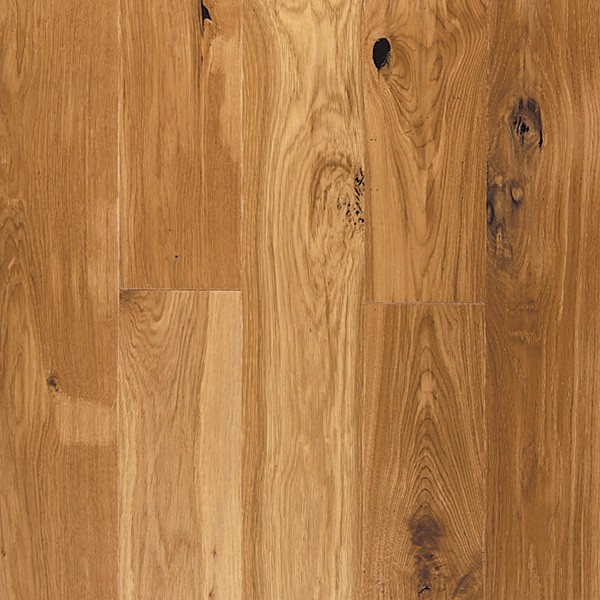 Oak Engineered Prefinished Hand Scraped Wire Brushed