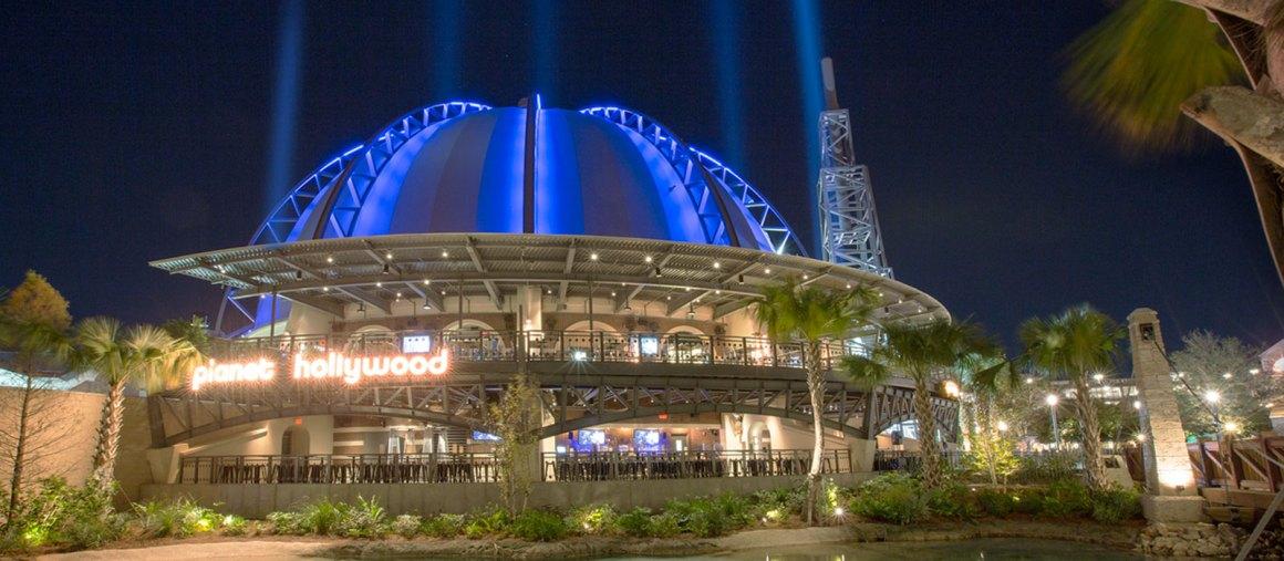 Restaurante Temático em Orlando: Planet Hollywood | Foto: Planet Hollywood