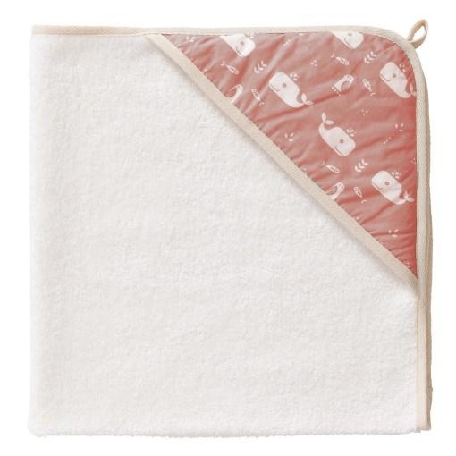 fresk-wrapper baba törölköző rózsaszín