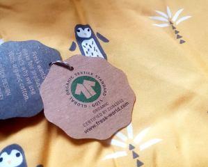 fresk organikus pamut babatörölköző