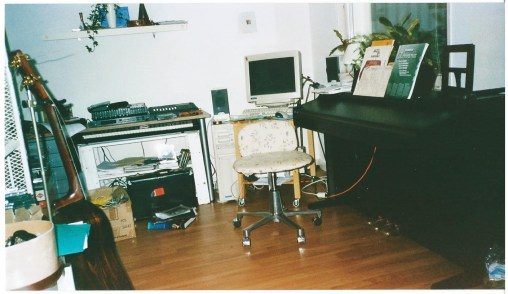 Studio at Torsdagsgatan.