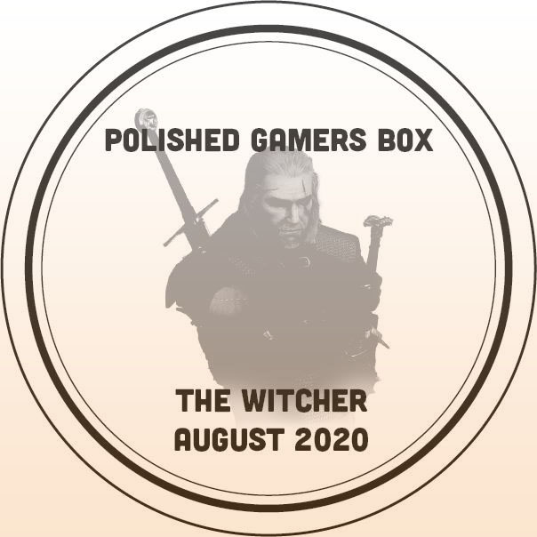 Polished Gamers Box August 2020 The Witcher