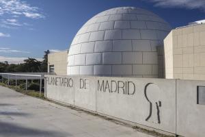 Cúpula del Planetario de Madrid.