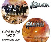 Saxon 'Dogs Of War' Rare Edition Picture Disc Vinyl Review