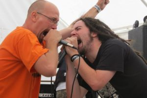 Grinned live at Monsters Of Rot III