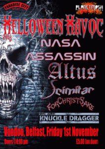 Helloween Havoc Poster