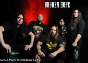 broken hope - band photo 2013