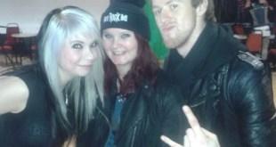 Skarlett Riot interview with Skarlett and Danny at Hard Rock Hell 7 – 29/11/13